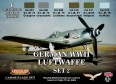 Zestaw kamuflażowych farb LifeColor CS07 GERMAN WWII LUFTWAFFE SET2