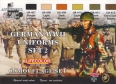 Zestaw kamuflażowych farb LifeColor CS05 GERMAN WWII UNIFORMS SET2
