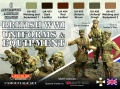 Zestaw kamuflażowych farb LifeColor CS45 British WWI Uniforms & Equipment