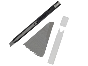 Vallejo T06011 Slim Snap-Off Knife + 10 Blades