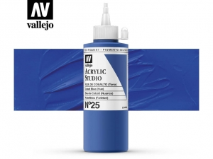 Vallejo Acrylic Studio 22025 Cobalt Blue (Hue) (200ml)