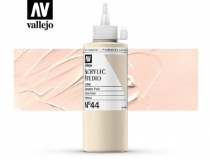Vallejo Acrylic Studio 22044 Carnation Pink (200ml)