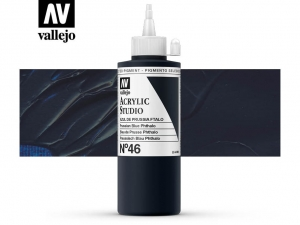 Vallejo Acrylic Studio 22046 Prussian Blue Phtalo (200ml)