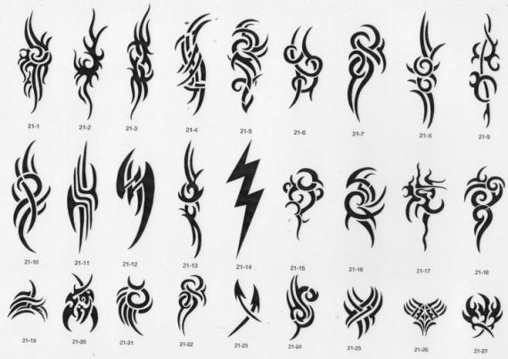 Airbrush tattoo book