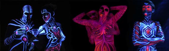 Airbrush Tattoo Fluorescent Ink