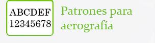 Patrones para aerografía Go&Spray